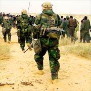 US Marine Escort near Baghdad
