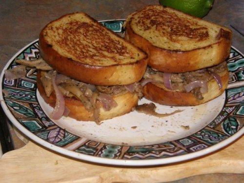 Maitake Sandwich