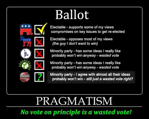 Pragmatic voting