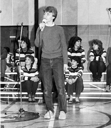 Singing for my Junior High