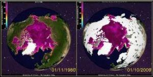 expanding sea ice